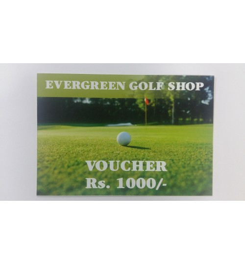 EVERGREEN GIFT VOUCHERS
